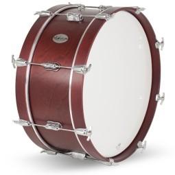 Huevos de madera (colores metalizados, par)